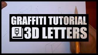 HOW TO DO 3D LETTERS? | Graffiti Tutorial | Nibs | Blackbookology