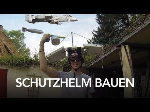 Gepanzerter Schutzhelm - how to - Heimwerkerking Fynn Kliemann