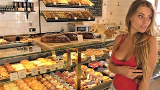 Delicious French Cakes, Tarts and Tartlets Prepared and Tasted in Minsk, Belarus