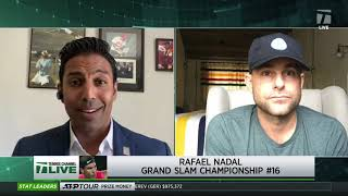 Tennis Channel Live: Rewind: Roddick Breaks Down Nadal's 2017 US Open Title Run