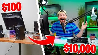 Surprising My Best Friend With A Brand New $10,000 Streaming Setup!!