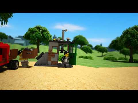 Vidéo LEGO City 60048 : L'intervention de l'unité cynophile