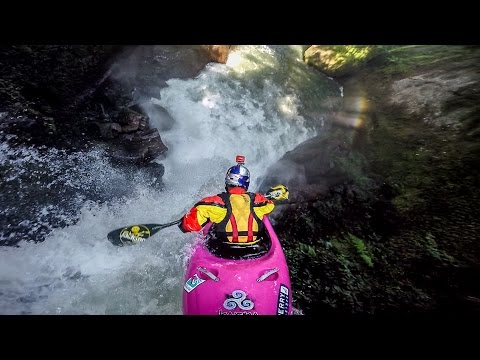 Kayaking Down Waterfalls Is Just Pure Crazy