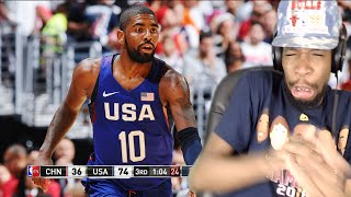 PUT HIM IN A COFFIN! USA vs CHINA FULL GAME HIGHLIGHTS REACTION!!