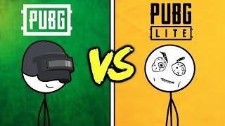PUBG Gamers VS PUBG LITE Gamers