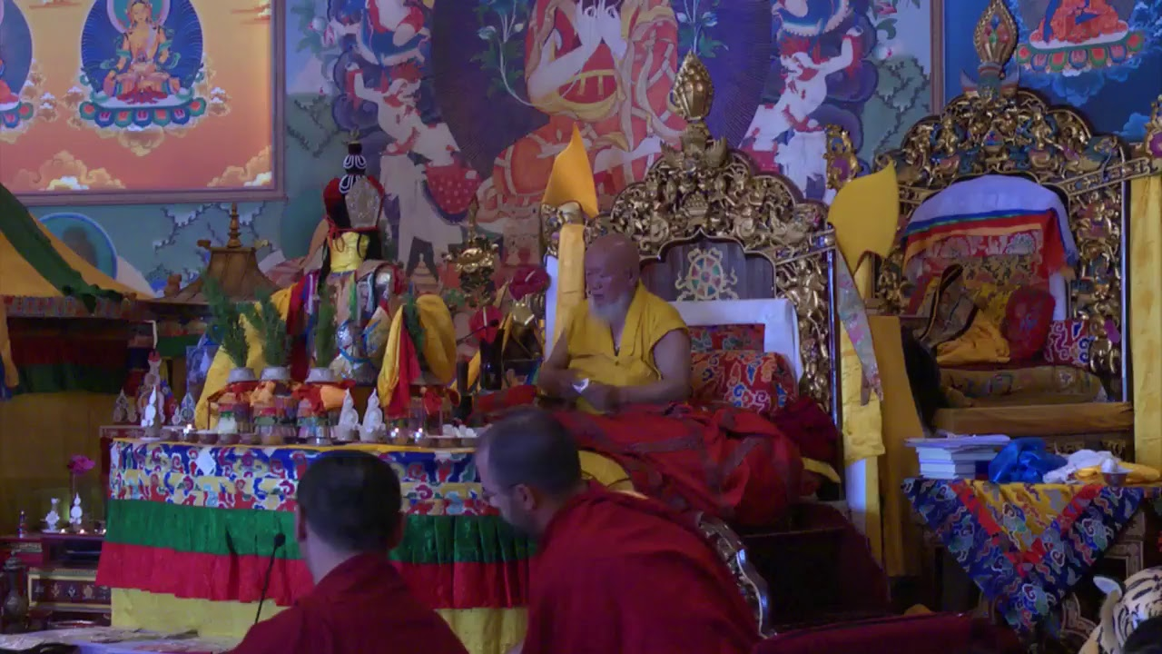Rabne Chenmo Puja – Great ritual of purification and blessing of the place and of all beings - part 1
