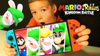 #3 Mario + Rabbids Битва За Королевство - Kingdom Battle - ПРОХОЖДЕНИЕ ИГРЫ - Nintendo Switch 2017