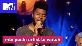 Khalid Performs 'Young, Dumb & Broke'   Push: Artist to Watch   MTV