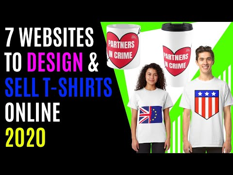 Top 7 Websites To Design & Sell T-Shirts Online For Free (works worldwide)