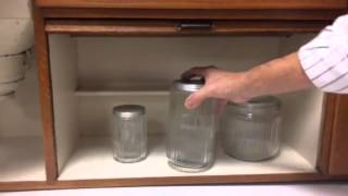 Antique Sellers Hoosier Kitchen Cabinet