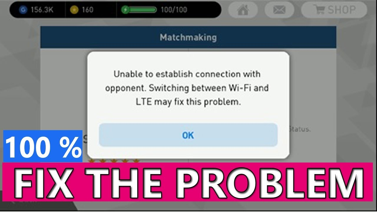 How to fix unable to establish connection between opponent