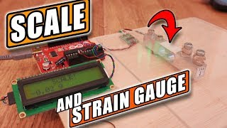 How STRAIN GAUGE Works | Precision SCALE With Arduino