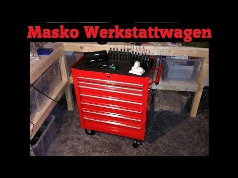 Masko Werkstattwagen - Unboxing und Aufbau