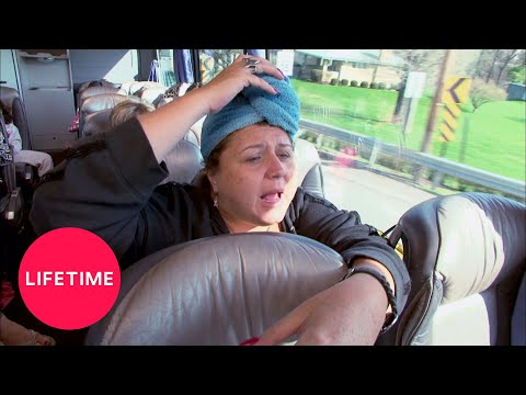 Dance Moms: The Girls Get Ready On the Bus (Season 1 Flashback) | Lifetime