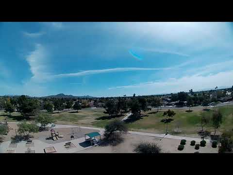 FullSpeed TinyLeader HD - FPV High Over Park Cinewhoop Style