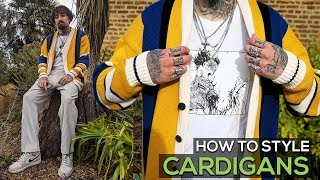 HOW TO STYLE CARDIGANS | MENS AUTUMN WINTER FASHION