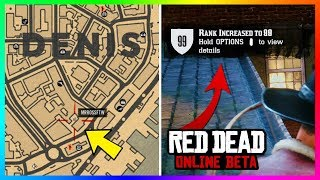 If You Go To This Location In Red Dead Online You Can Get UNLIMITED XP Points - Rank Up FAST! (RDR2)
