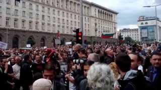 Протести срещу правителството Олигарски - вижте само тук!