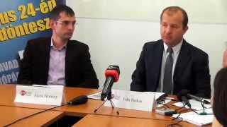 Az MKP EP-választási Programjának Bemutatása