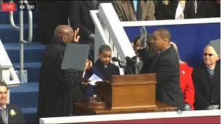 Mark Herring, Justin Fairfax, Ralph Northam Sworn In (1/13/18)