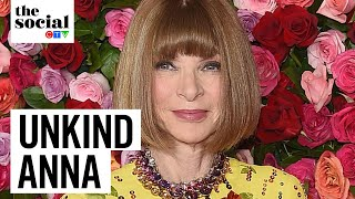 Andre Leon Talley Says Anna Wintour Isnt Capable Of Human Kindness | The Social