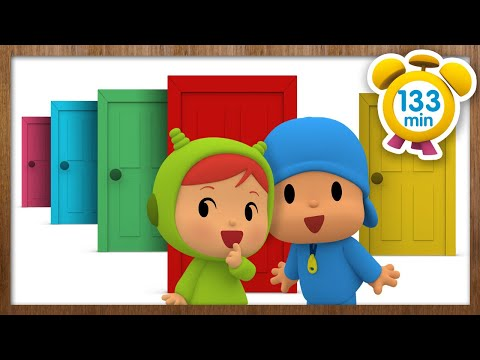 🚪 POCOYÓ en ESPAÑOL - Las Puertas De Colores [ 133 min ] | CARICATURAS y DIBUJOS ANIMADOS para niños