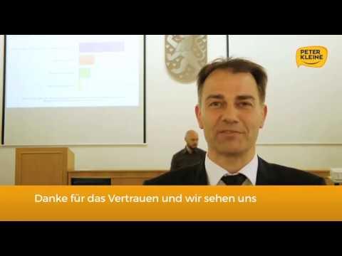 Peter Kleine - Weimars neuer Oberbürgermeister
