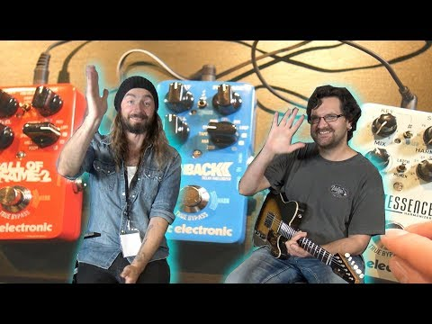 TC Electronic Pedal Reviews - Hall Of Fame 2, Flashback Delay 2, Quintessence
