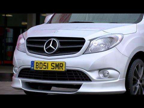 Mercedes Benz  Citan Минивен класса M - рекламное видео 3