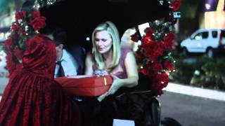 Natasha Henstridge and Darius Campbell 2 Year Anniversary Courtesy of 7 Wheel Wonders