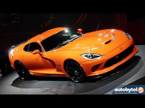 2014 SRT Viper TA at the 2013 New York Auto Show