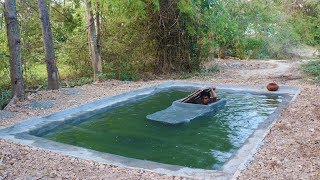 Make Secret House in Water