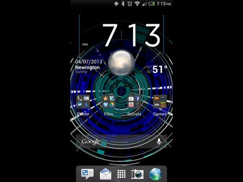 Video of Tech Rings Live Wallpaper Free