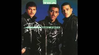 """TKA – """"Tears May Fall"""" (dub) (Tommy Boy) 1987"""