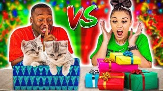 SILENT UNBOXING CHRISTMAS PRESENTS CHALLENGE 🎁