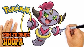 Hoopa  - (Pokémon) - How to Draw Hoopa | Pokemon