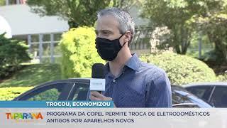 Copel incentiva troca de 23 mil eletrodomésticos