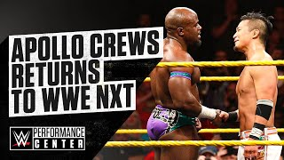 Behind The Scenes Of Apollo Crews' Return To NXT