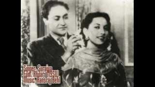 Chahat Ka Bhulana Mushkil Hai-Suraiya-Khilari (1950).flv