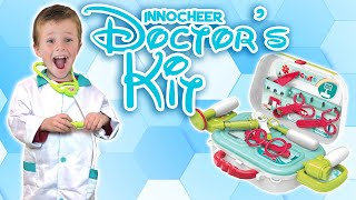 Doctor Pretend Play | Innocher's Doctor Playset with Mini Doctor Tools | FamilyPopTV