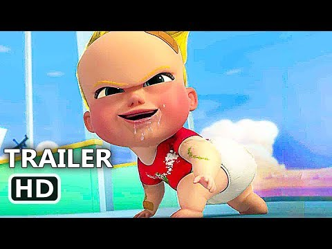 BOSS BABY Back In Business Trailer EXTENDED (NEW 2018) Netflix, Animation HD