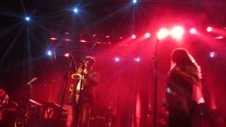 Familiar Ground - The Cinematic Orchestra - Roundhouse, London -  23rd May 2015