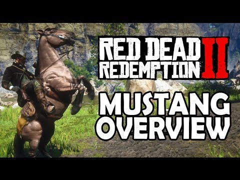 , title : 'Red Dead Redemption 2 Horses - Mustang Overview