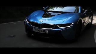 Most beautiful sport car BMW i8 2015