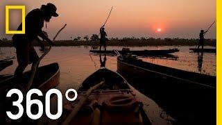 Africa's Pristine Delta in 360 - Ep. 1   The Okavango Experience
