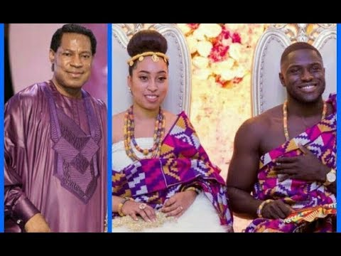 Ghana Meets Nigeria! Pastor Chris Gives Out Daughter, Sharon to Frimpong in Marriage