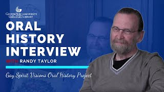 Randy Taylor Oral History Interview, 2015-03-08
