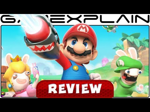 Mario + Rabbids: Kingdom Battle - REVIEW (Nintendo Switch) - YouTube video thumbnail
