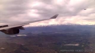 Qantas 747-438 [VH-OJM] - Arrival At Santiago