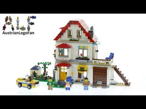 Vidéo LEGO Creator 31069 : La maison familiale
